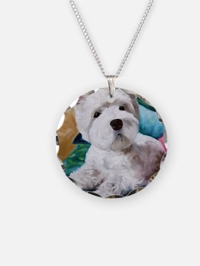 Best Friend Necklace Circle Charm