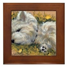 Beautiful Dreamer Framed Tile
