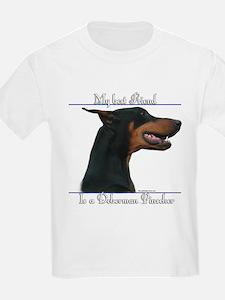 Dobie Best Friend2 Kids T-Shirt
