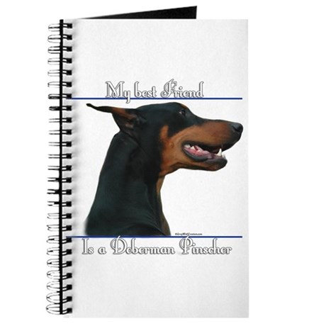 Dobie Best Friend2 Journal