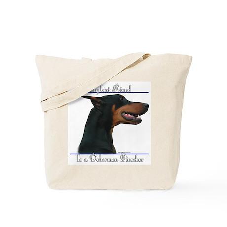 Dobie Best Friend2 Tote Bag