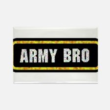 Army Bro Rectangle Magnet