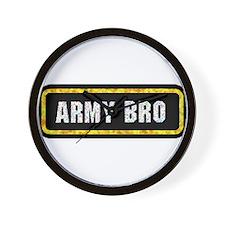 Army Bro Wall Clock