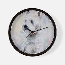 Watch Dog Wall Clock