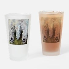 The ENd Drinking Glass