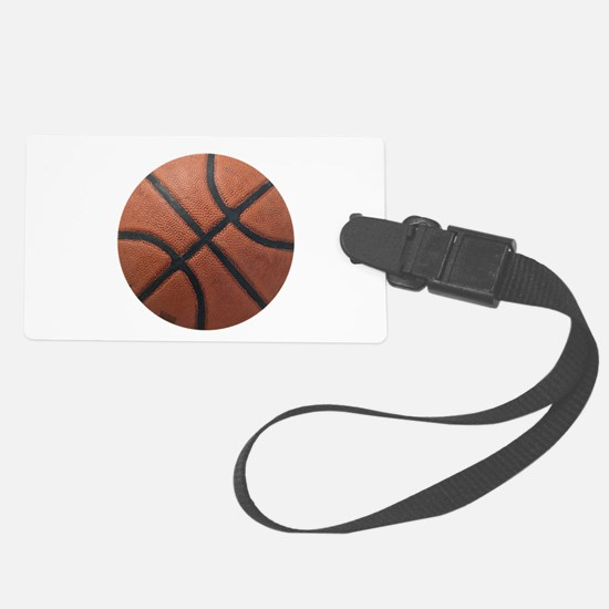Basketball Large Luggage Tag