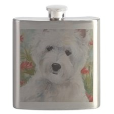 A Touch of Spring Flask
