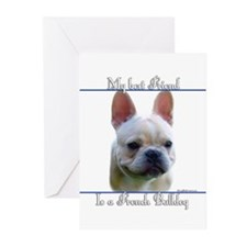 Frenchie Best Friend2 Greeting Cards (Pk of 10