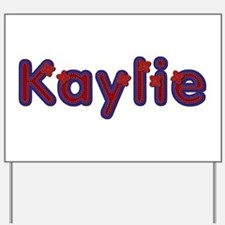 Kaylie Red Caps Yard Sign