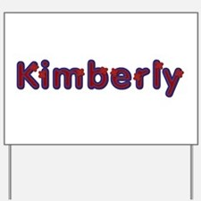 Kimberly Red Caps Yard Sign