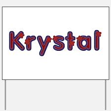 Krystal Red Caps Yard Sign