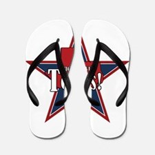 I Messed With Texas Flip Flops