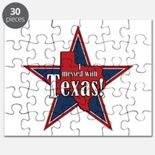 I Messed With Texas Puzzle
