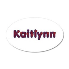 Kaitlynn Red Caps Wall Decal