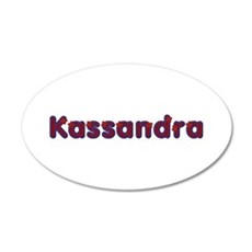 Kassandra Red Caps Wall Decal