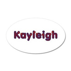 Kayleigh Red Caps Wall Decal