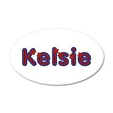 Kelsie Red Caps Wall Decal