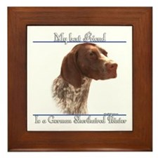 Shorthair Best Friend2 Framed Tile