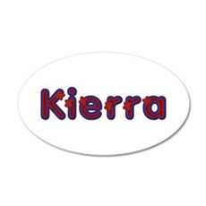 Kierra Red Caps Wall Decal