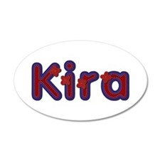 Kira Red Caps Wall Decal