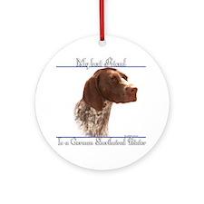 Shorthair Best Friend2 Ornament (Round)
