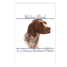 Shorthair Best Friend2 Postcards (Package of 8)