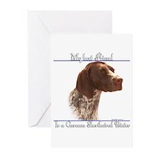 Shorthair Best Friend2 Greeting Cards (Package of