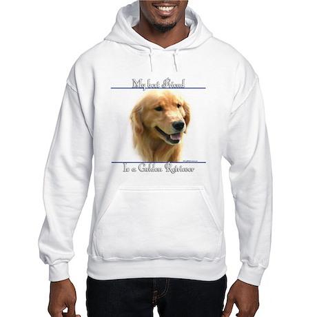 Golden Best Friend2 Hooded Sweatshirt
