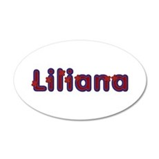 Liliana Red Caps Wall Decal
