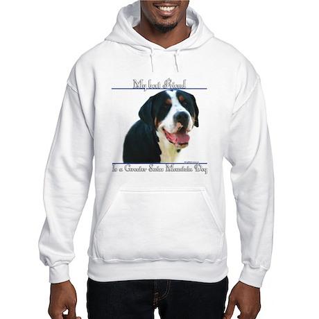 Swissy Best Friend2 Hooded Sweatshirt