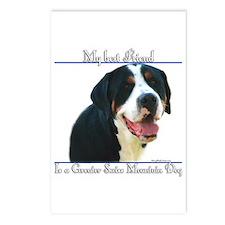 Swissy Best Friend2 Postcards (Package of 8)
