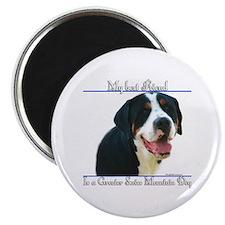 Swissy Best Friend2 Magnet