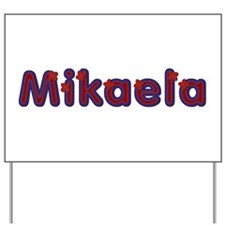 Mikaela Red Caps Yard Sign