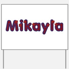 Mikayla Red Caps Yard Sign
