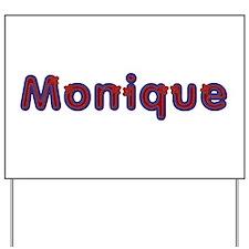 Monique Red Caps Yard Sign