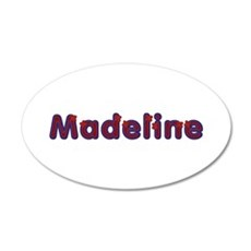Madeline Red Caps Wall Decal
