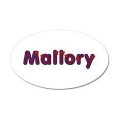 Mallory Red Caps Wall Decal