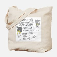Comfort in the Sky Tote Bag