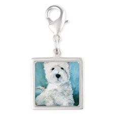 Harry Silver Square Charm