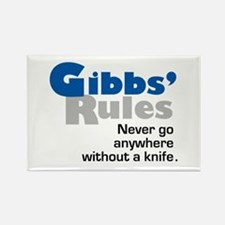 Gibbs' Rules Never Go Anywhere without a Knife Rec