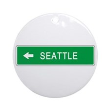 Roadmarker Seattle (WA) Ornament (Round)