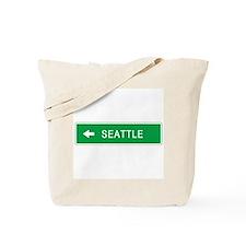Roadmarker Seattle (WA) Tote Bag
