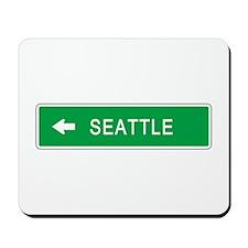 Roadmarker Seattle (WA) Mousepad