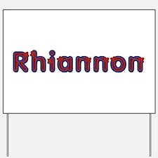 Rhiannon Red Caps Yard Sign