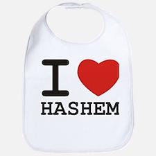 I Heart Hashem Bib