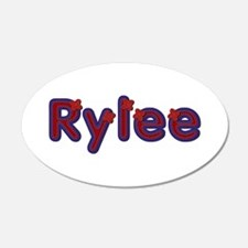 Rylee Red Caps Wall Decal