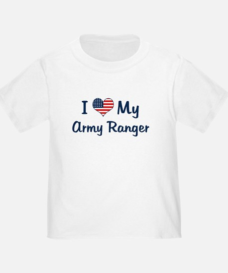 Army Ranger: Flag Love T