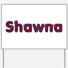Shawna Red Caps Yard Sign