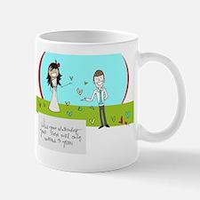 For a Wedding Day Mug