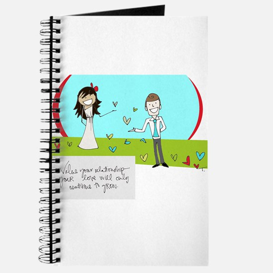 For a Wedding Day Journal